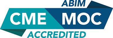 ABIM CME MOC Accredited Badge