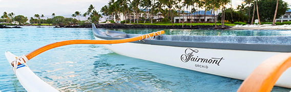 Fairmont Orchid, Hawaii Canoe