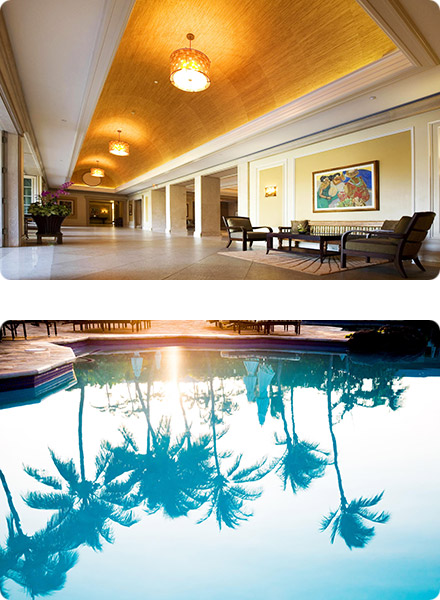 Fairmont Orchid, Hawaii Lobby & Pool