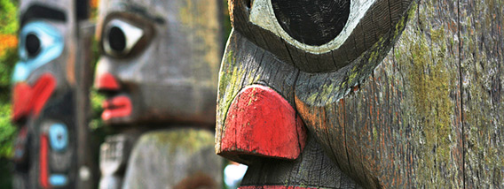 Ketchikan's Collection of Totem Poles