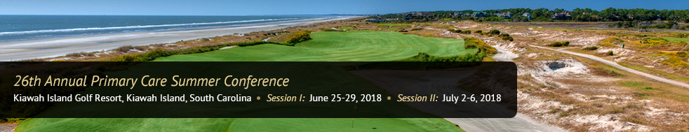 Kiawah Island South Carolina CME 2018
