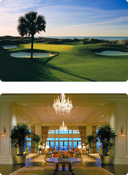 Kiawah Island Golf Resort Course & Lobby
