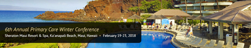 Maui Hawaii Winter CME 2018