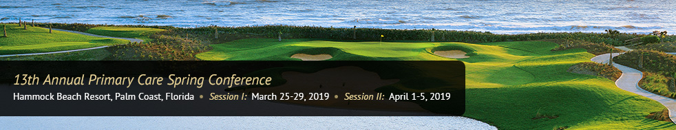 Palm Coast Florida Spring CME 2019