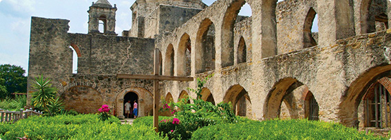 Mission San Jose in San Antonio, Texas