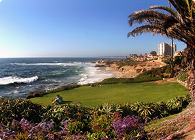Beach View in San Diego, California