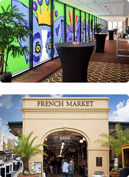 Sheraton New Orleans Hotel Foyer & French Market