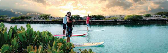 Stand-up Paddleboarding at Hawks Cay Island Resort