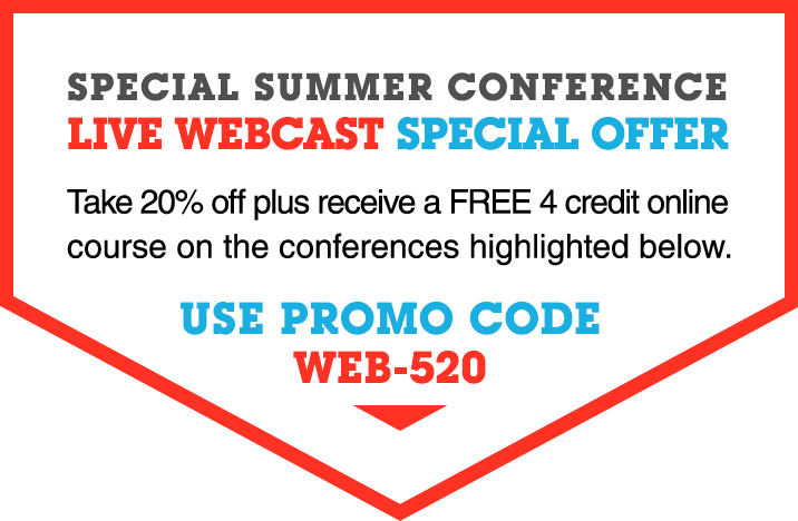 Live Webcast Special Offer