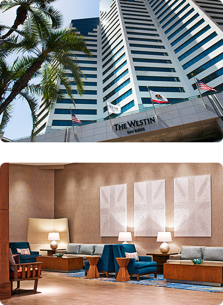 The Westin San Diego Exterior and Lounge