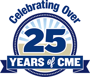 Celebrating Over 25 Years of CME Logo