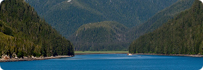 Cruise through Alaska's Beautiful Inside Passage