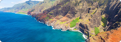Take a Ride Over the Islands of Hawaii